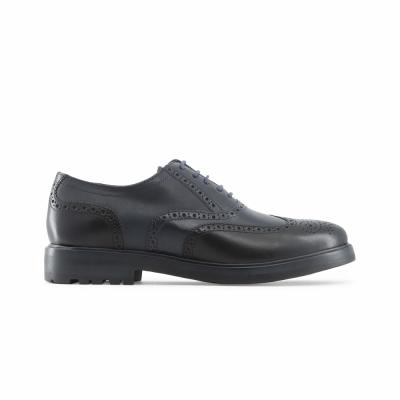 Pantofi siret Lumberjack STATE Negru