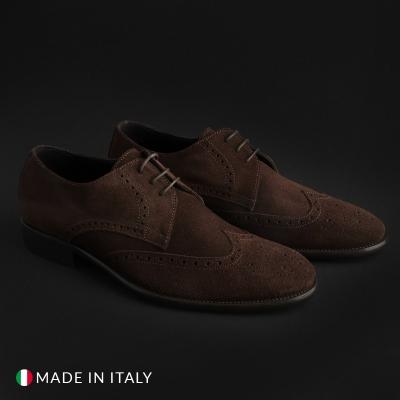 Pantofi siret Made In Italia VIENTO_CAM Maro