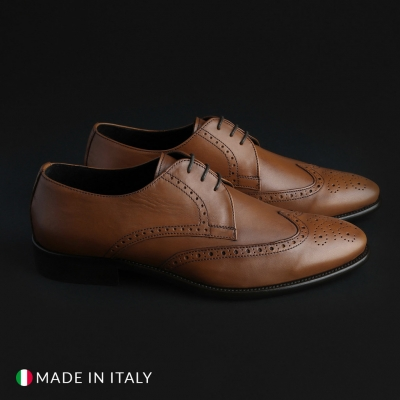 Pantofi siret Made In Italia VIENTO Maro