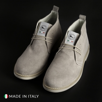 Pantofi siret Off-box 221_CAMOSCIO Maro