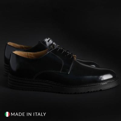 Pantofi siret Sb 3012 06_BONUCCI Negru