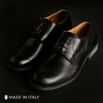 Pantofi siret Sb 3012 08_CRUST Negru