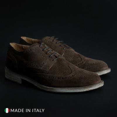Pantofi siret Sb 3012 208_CAMOSCIOBUCATO Maro