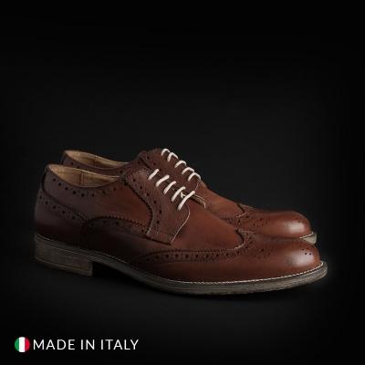 Pantofi siret Sb 3012 S2_CRUST Maro