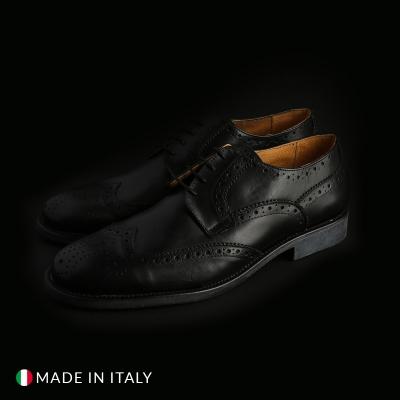 Pantofi siret Sb 3012 S2_CRUST Negru