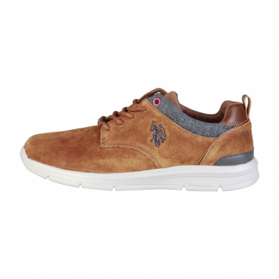 Pantofi siret U.s. Polo WALDO4004W7 Maro