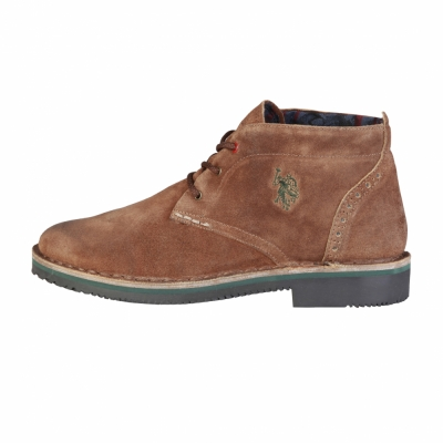 Pantofi siret U.s. Polo WALT3036W7 Maro