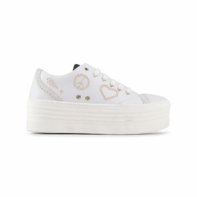 Pantofi sport Love Moschino JA15116G15IA Alb
