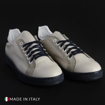 Pantofi sport Duca Di Morrone 7132D_PELLE Alb