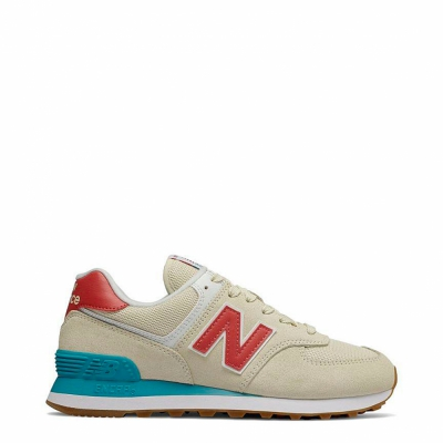 Pantofi sport New Balance WL574 Galben