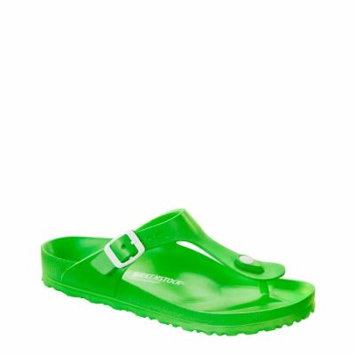 Papuci Birkenstock GIZEH-EVA Verde