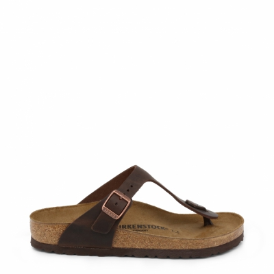Papuci Birkenstock GIZEH_OILED-LEATHER Maro