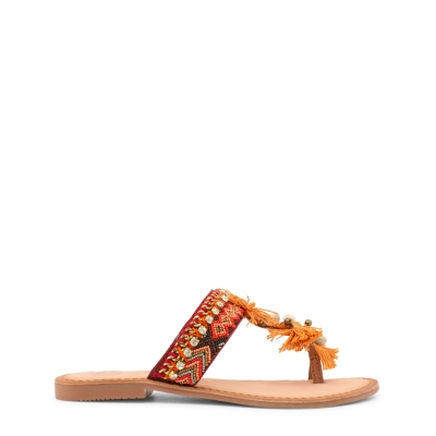 Papuci Gioseppo AVENTINA Portocaliu