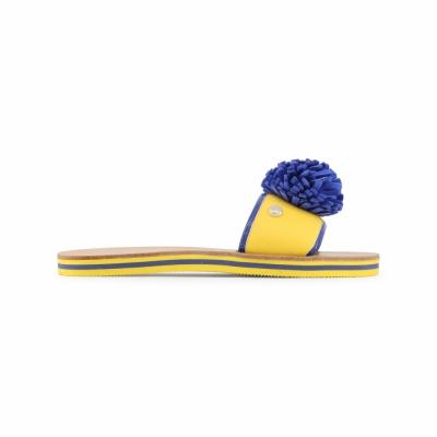 Papuci Love Moschino JA28012G15ID Galben