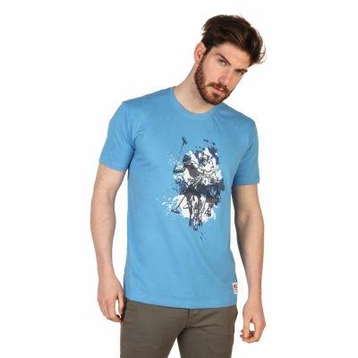 Tricouri U.s. Polo 43693_49351 Albastru