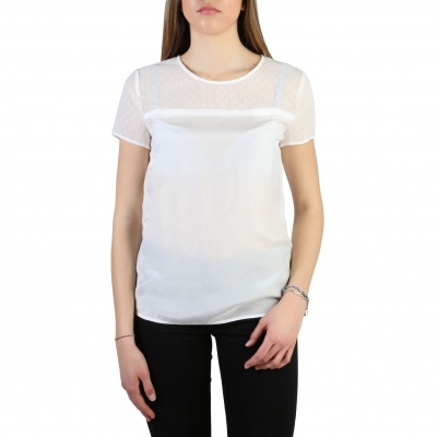 Tricouri Armani Jeans 3Y5H45_5NZSZ Alb