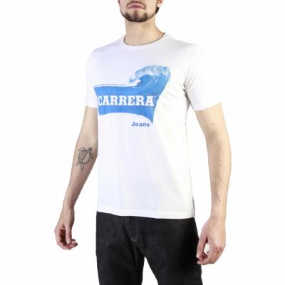 Tricouri Carrera Jeans 00801A_0047X Alb