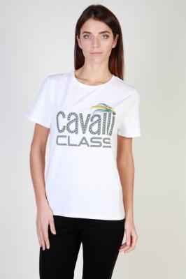Tricouri Cavalli Class B2IQB72236641_0115 Alb