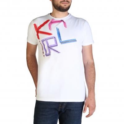 Tricouri Karl Lagerfeld KL21MTS02 Alb