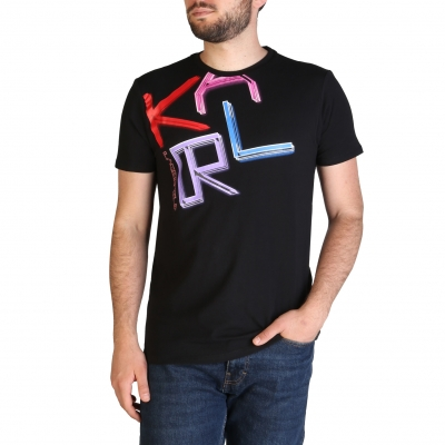 Tricouri Karl Lagerfeld KL21MTS02 Negru