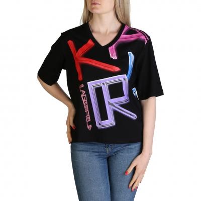 Tricouri Karl Lagerfeld KL21WTS02 Negru