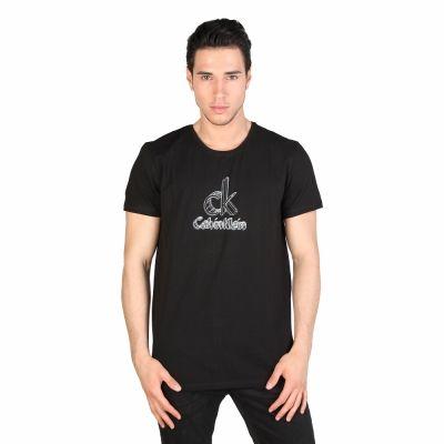 Tricouri Calvin Klein KMP47A Negru