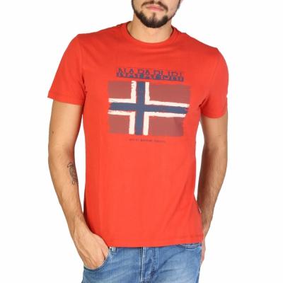Tricouri Napapijri N0YHX5 Portocaliu
