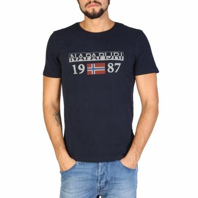 Tricouri Napapijri N0YI8F Albastru