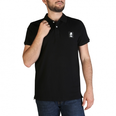 Tricouri polo Karl Lagerfeld KL21MPL01 Negru