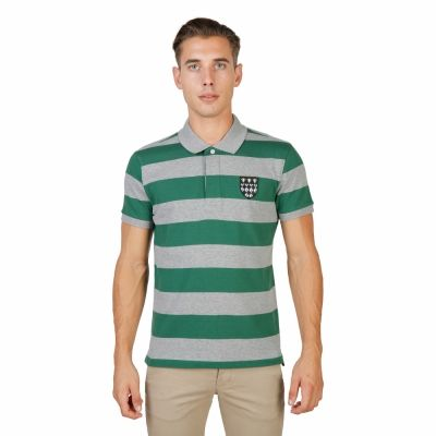 Tricou polo Oxford University MAGDALEN-RUGBY-MM Verde