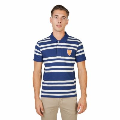 Tricou polo Oxford University ORIEL-RUGBY-MM Albastru