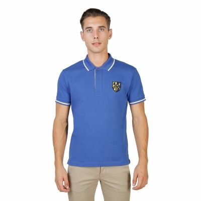 Tricou polo Oxford University TRINITY-POLO-MM Albastru