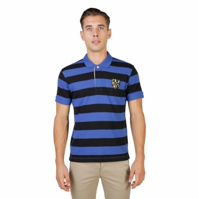 Tricou polo Oxford University TRINITY-RUGBY-MM Negru
