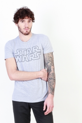 Tricouri Star Wars FAMTS497 Gri