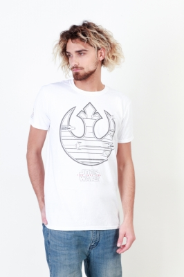 Tricouri Star Wars FBMTS144 Alb