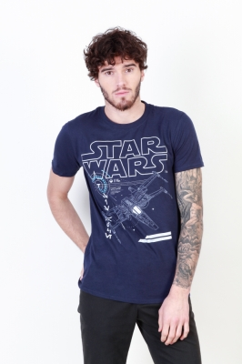 Tricouri Star Wars FBMTS148 Albastru