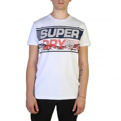 Tricouri Superdry M1000005A Alb