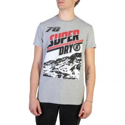Tricouri Superdry M1000005A Gri