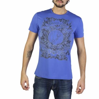 Tricouri Versace Jeans B3GRB71B36641 Albastru