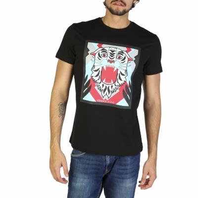 Tricouri Versace Jeans B3GRB71E36598 Negru