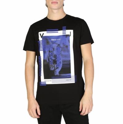 Tricouri Versace Jeans B3GSB73A_36598 Negru