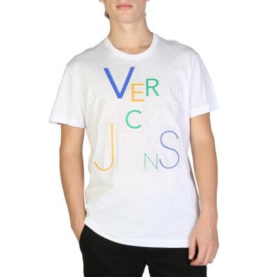 Tricouri Versace Jeans B3GSB74A_36590 Alb