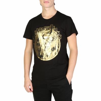 Tricouri Versace Jeans B3GSB76S_36610 Negru