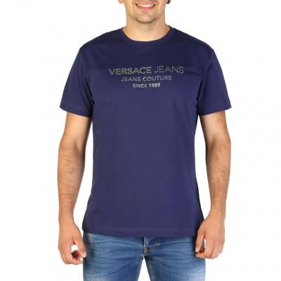 Tricouri Versace Jeans B3GTB73E_36598 Albastru