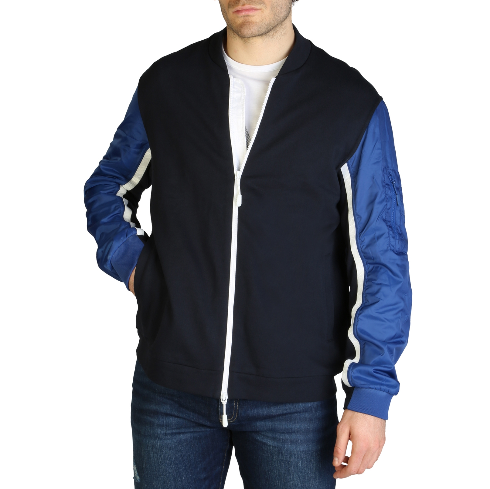 Mergi la Bluze sport Armani Exchange 3ZZMBC_ZJP8Z Albastru