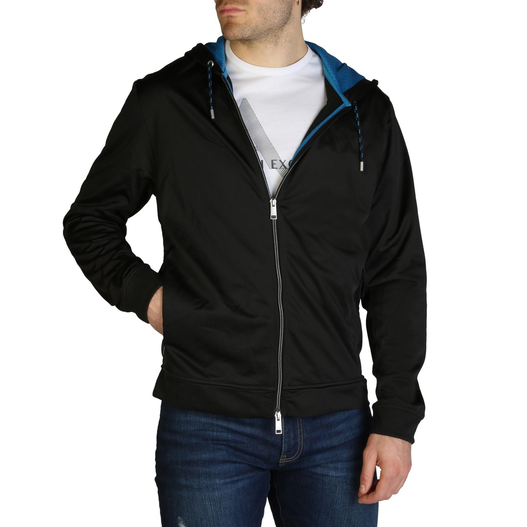 Mergi la Bluze sport Armani Exchange 3ZZMBD_ZJM8Z Negru
