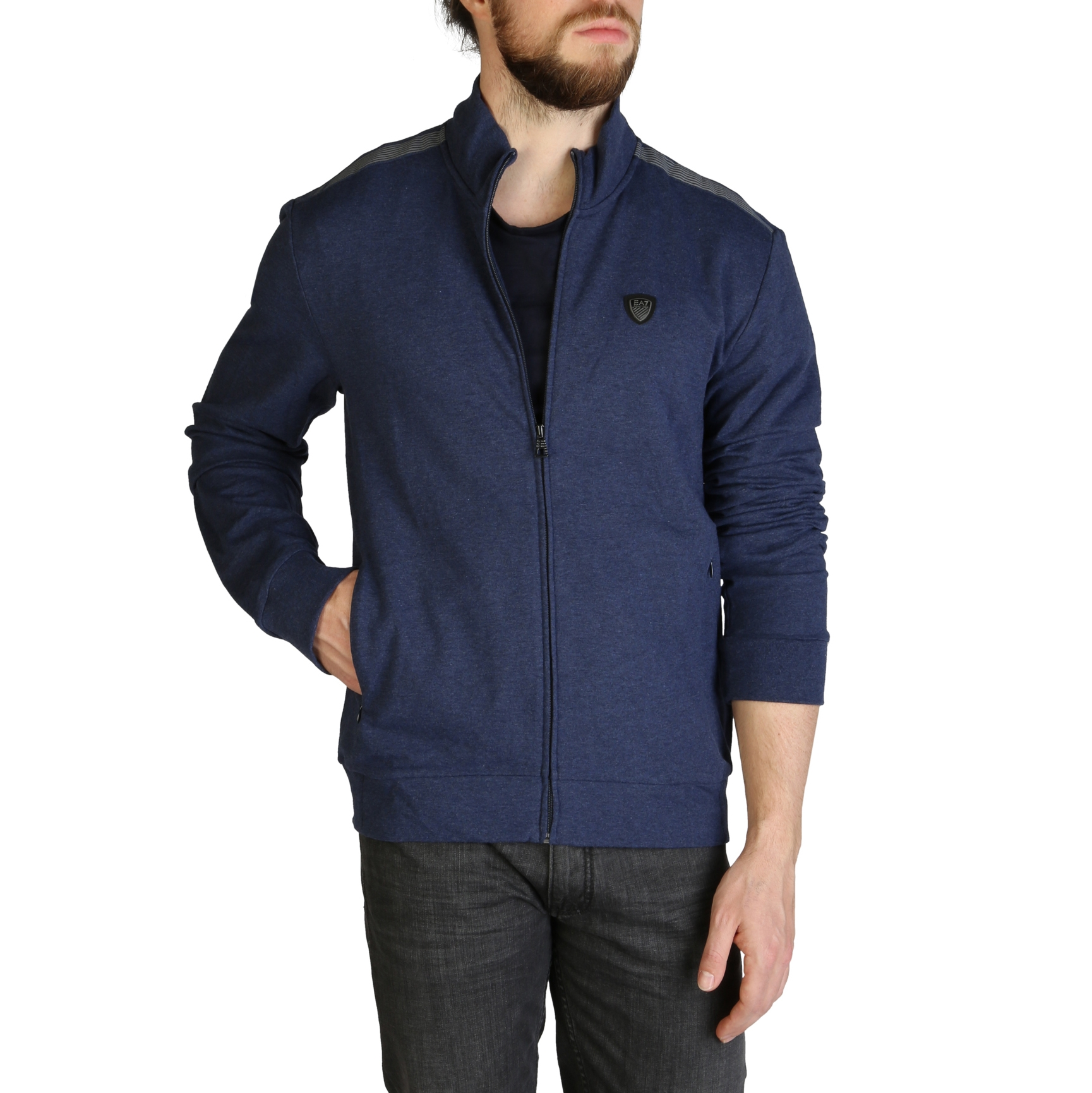 Mergi la Bluze sport Ea7 3ZPM73_PJ19Z Albastru