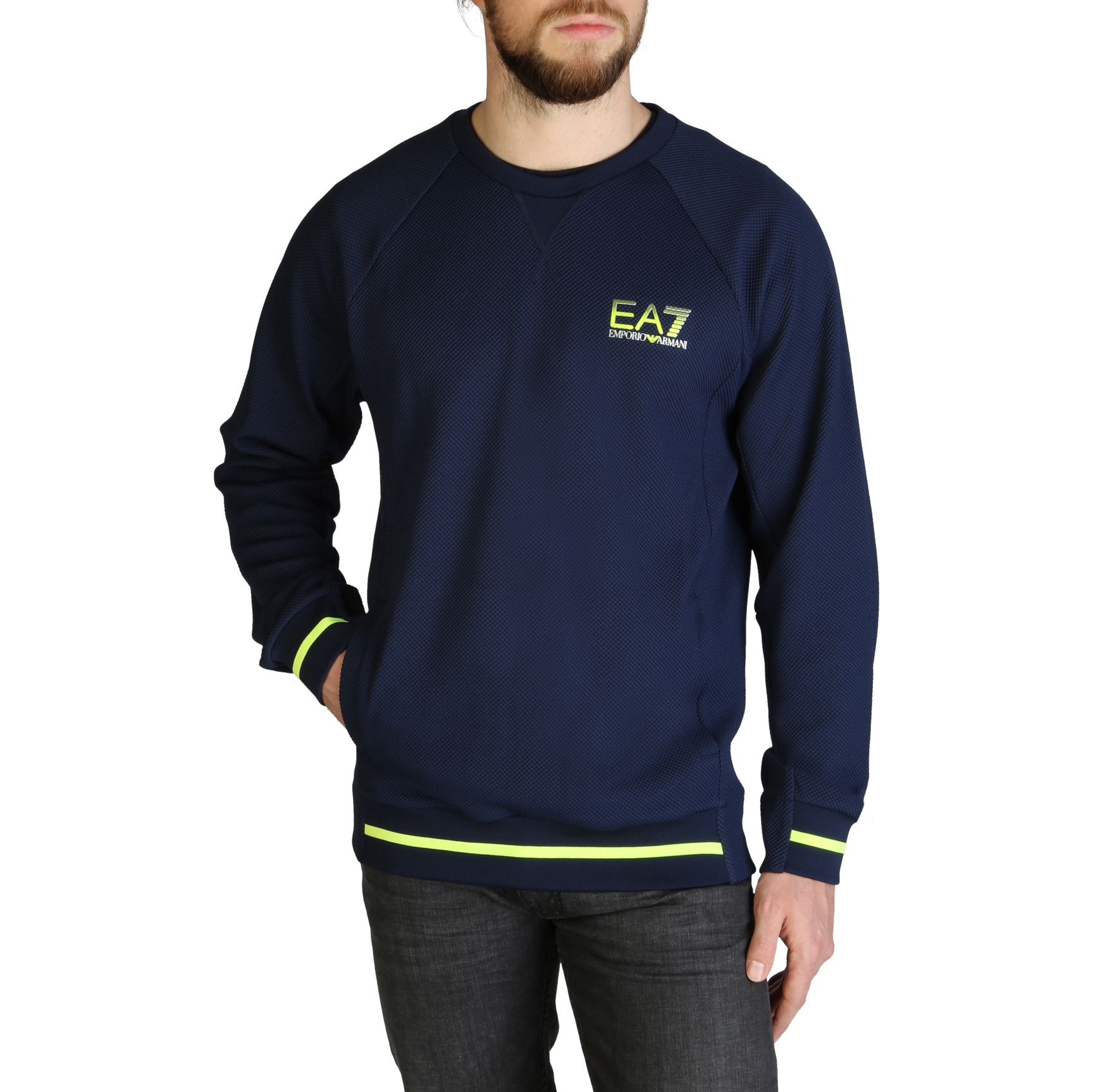 Mergi la Bluze sport Ea7 3ZPMC8_PJL1Z Albastru