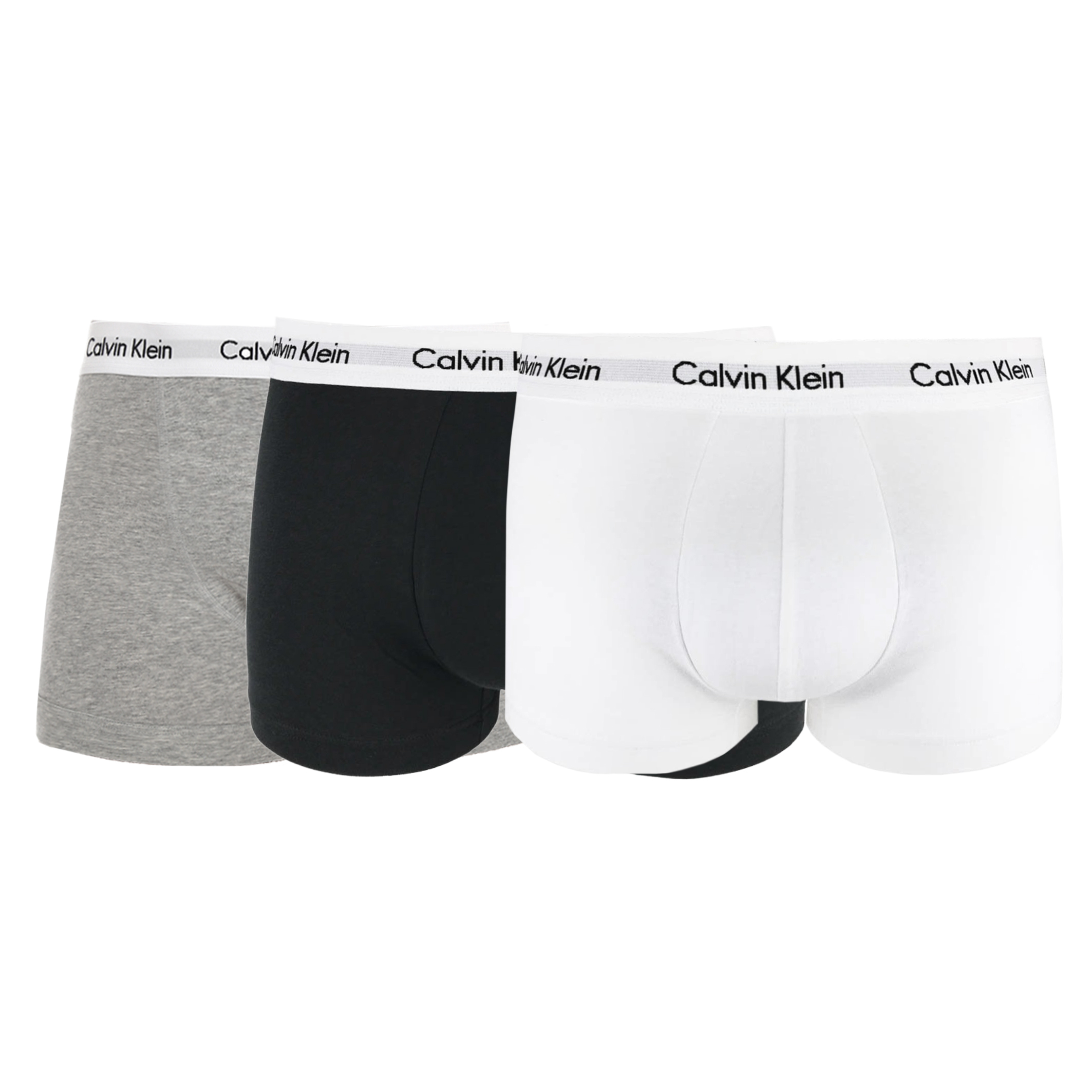 Boxeri Calvin Klein U2664G Alb