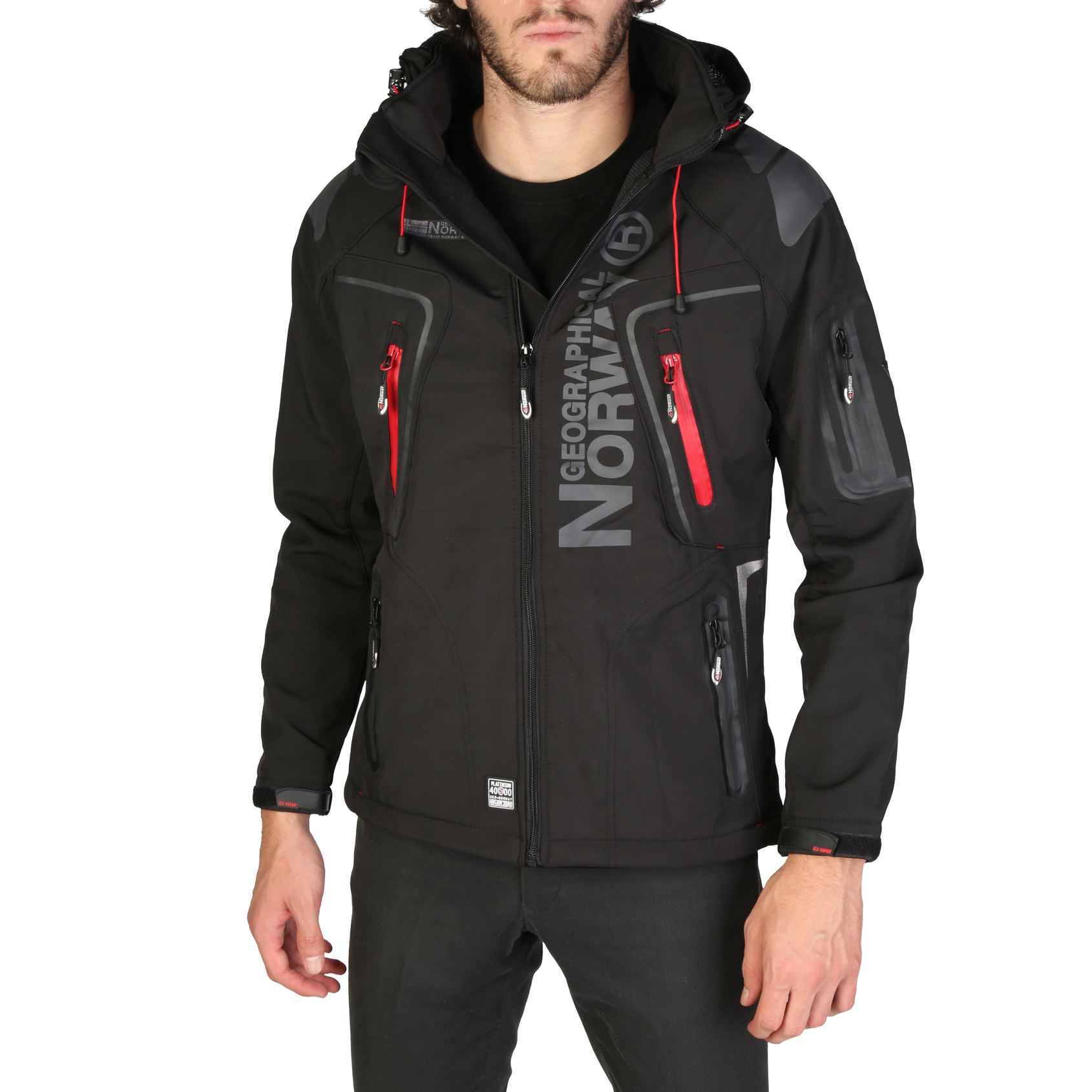 Mergi la Geci Geographical Norway Techno_man Negru